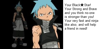 What Soul Eater Character Are You?