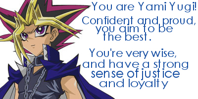 Yu-Gi-Oh:  Which Character Are You?
