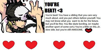 Which TWEWY Character Are You?