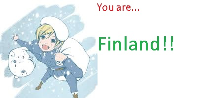 What Hetalia Character Are You?