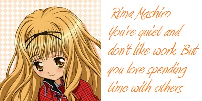Which Shugo Chara Girl Are You?