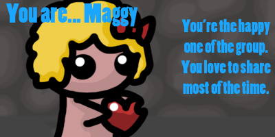 Which Binding of Isaac Character Are You?