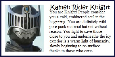 What Kamen Rider Are You?