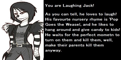 What Creepy Pasta character are you?