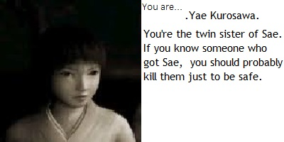 Fatal Frame II Quiz: Who Are You?