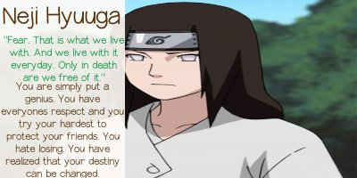 Which Naruto Character Are You?