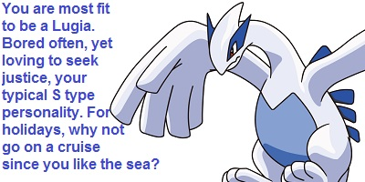What Johto Legendary Pokemon Are You?