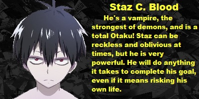 Which Blood Lad Character Are You?