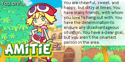 Which Puyo Puyo Character Are You?