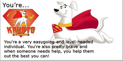 What Krypto The Super-dog Hero Are You?