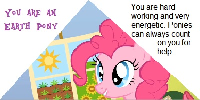 What Kind Of Pony Are You?