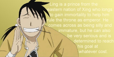 Which FMA Character Would You Date?