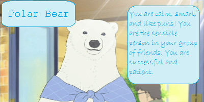 Which Polar Bear Cafe Character Are You?
