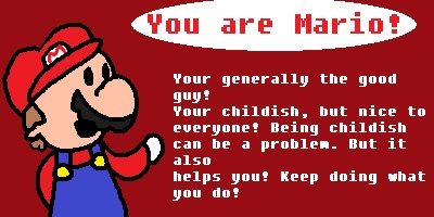 What Mario Character Are You?