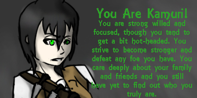 Which One Of My Main OC's Are You?