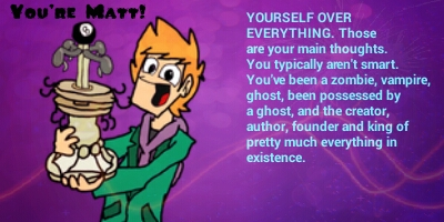 What Eddsworld Character are you?