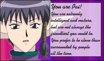 What Tokyo Mew Mew Character Are You?