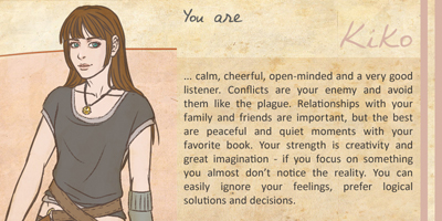 Which Woman From The SevenMoons Tales Are You?