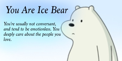 Which We Bare Bear Character Are You?