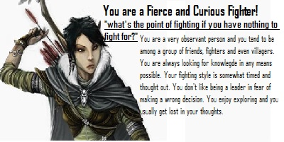 What Kind Of Fighter Are You?