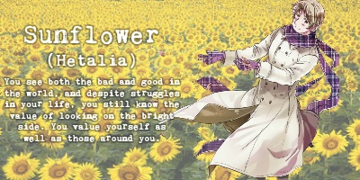 What Anime Flower Symbol Are You?