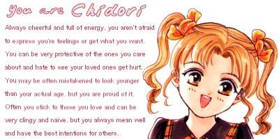 What Anime Youngster Are You?
