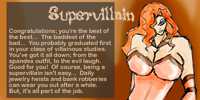 What Kind Of Villain Are You?