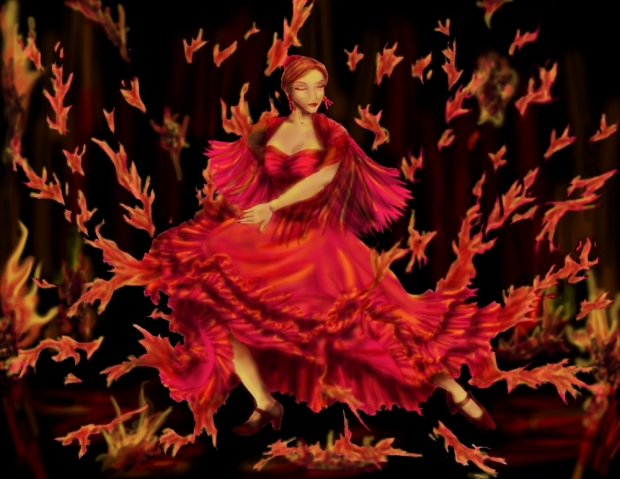 Flamenco Flame