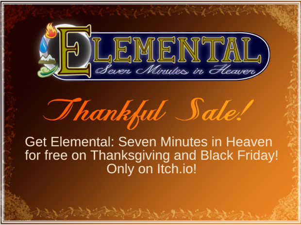 Elemental Thankful Sale!