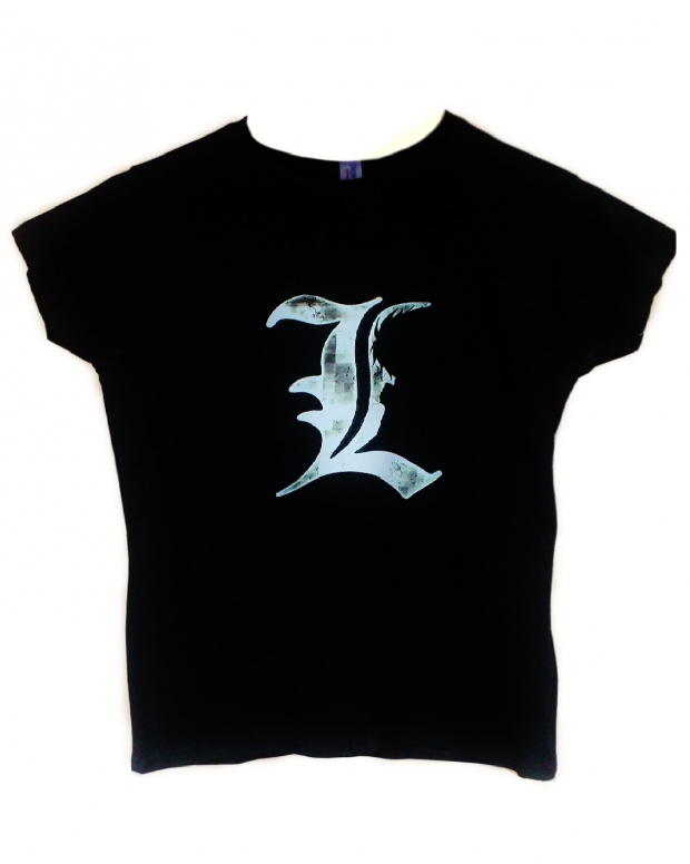 Death note L tshirt