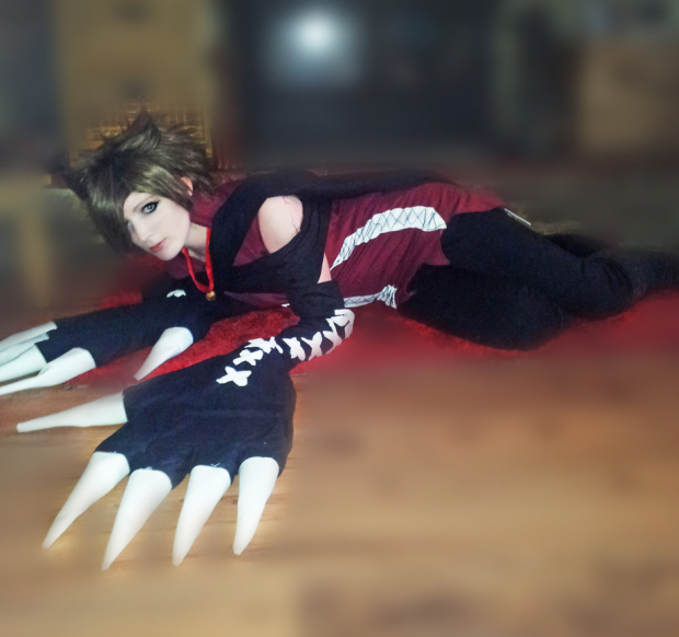 Pandora Hearts Cheshire Cosplay.