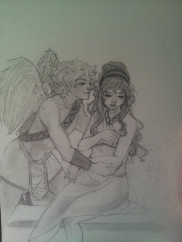Cupids Love sketch