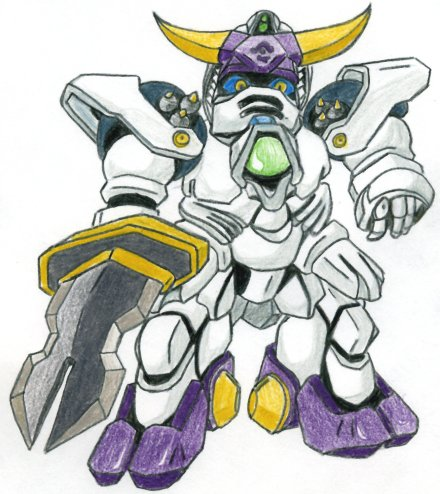 Maikeru The Gundam Coloured