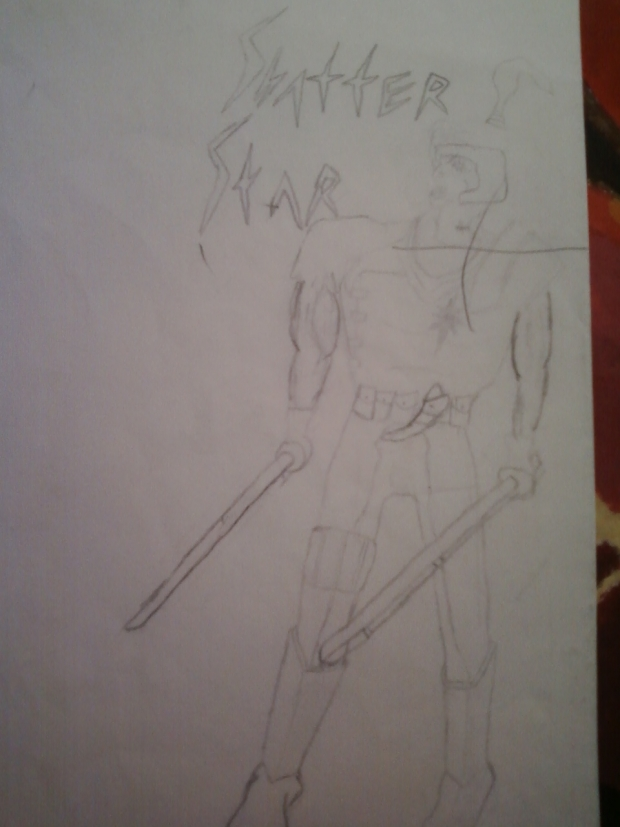 Shatterstar of the X-FORCE