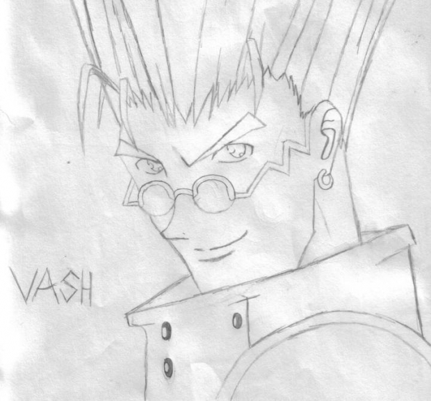 Quick Sketch Of Vash