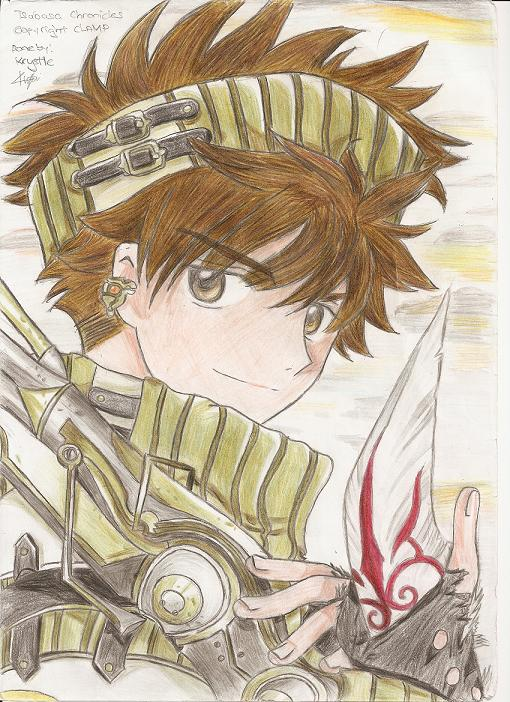 Tsubasa Chronicles, Shaoran (coloured)