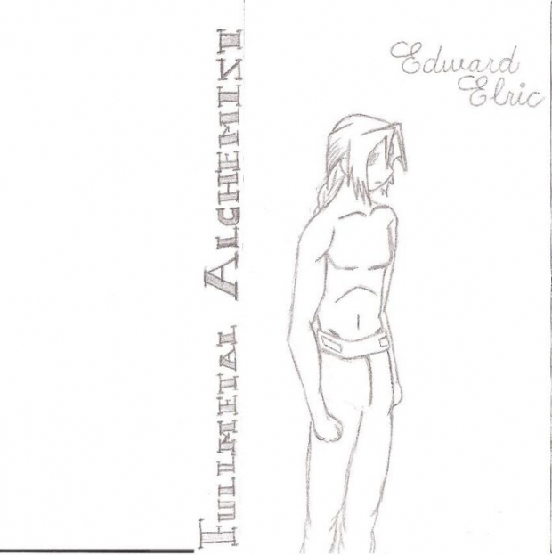 Edward Elric- No Automail