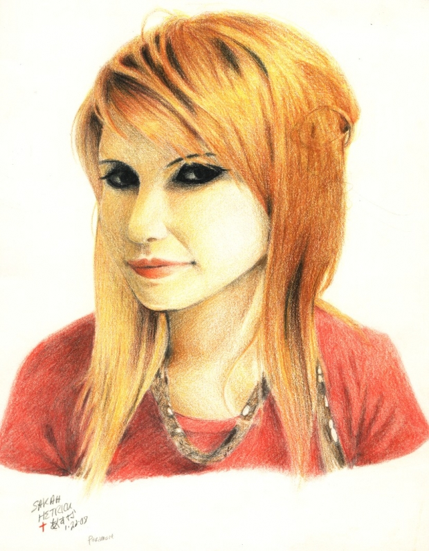 Paramore- colored pencil