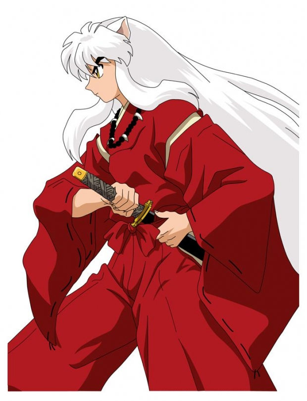 Inu Yasha Ready To Fight