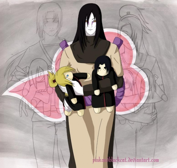 Orochimaru And His Chibis