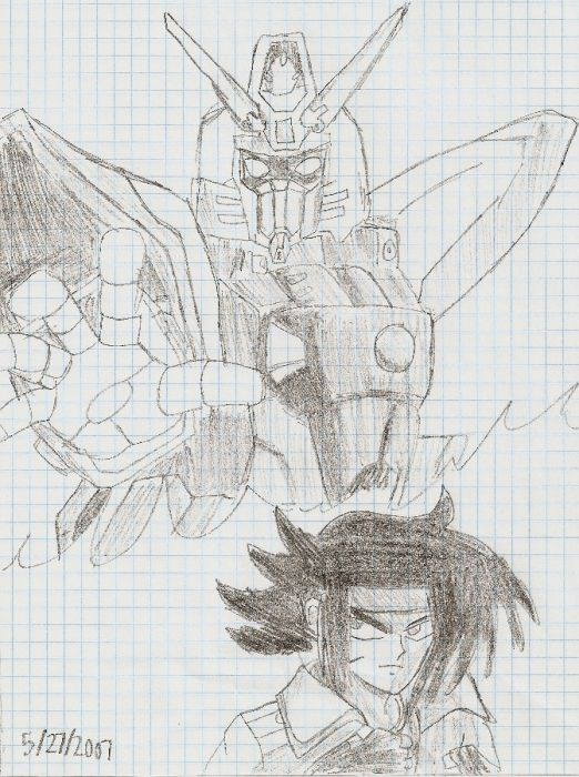 Shining Gundam And Domon Kasshu