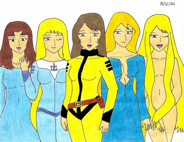 The Women of Space Battleship Yamato