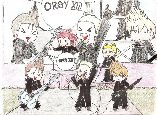 organization xiii: the Band!