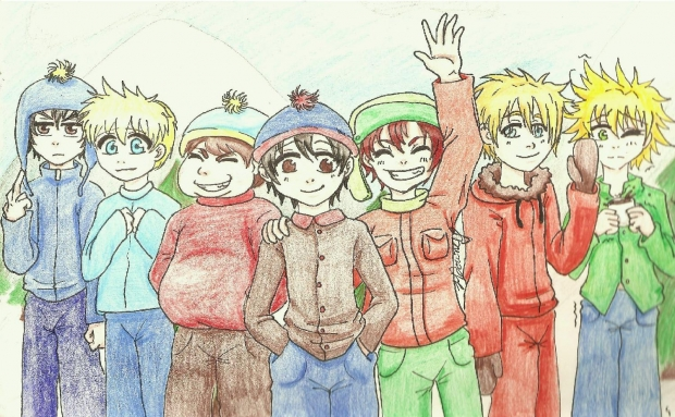 If South Park was an Anime
