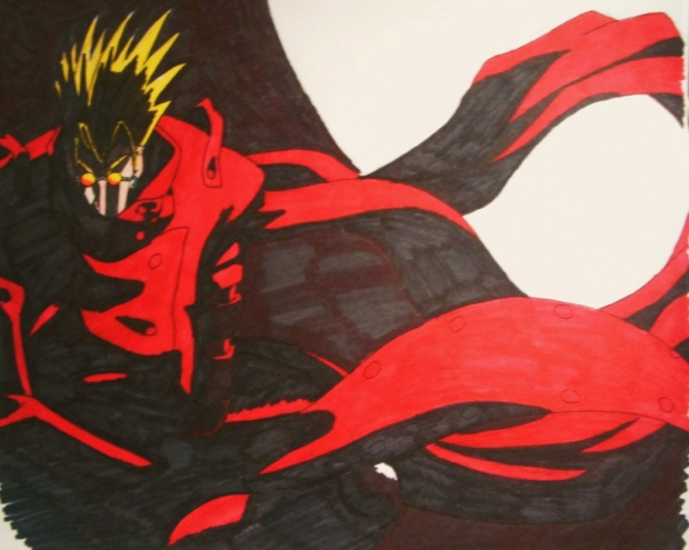 vash: ink (marker)