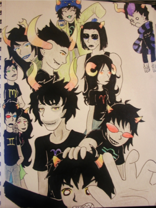 Homestuck, That's really all there is to say on the matter.