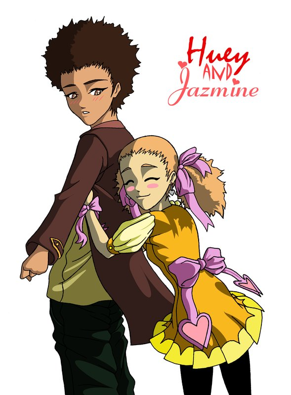 huey and jazmine by omyasaka