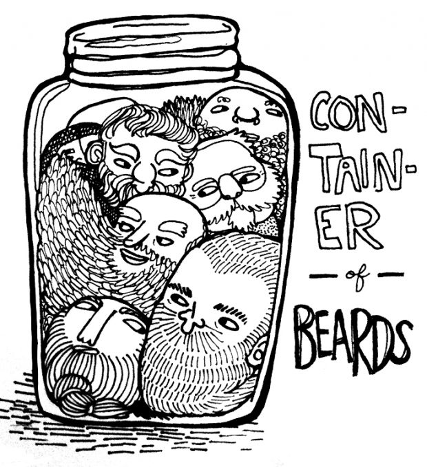 Container of Beards