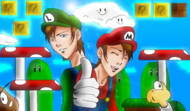 Teenage Mario Bros.!