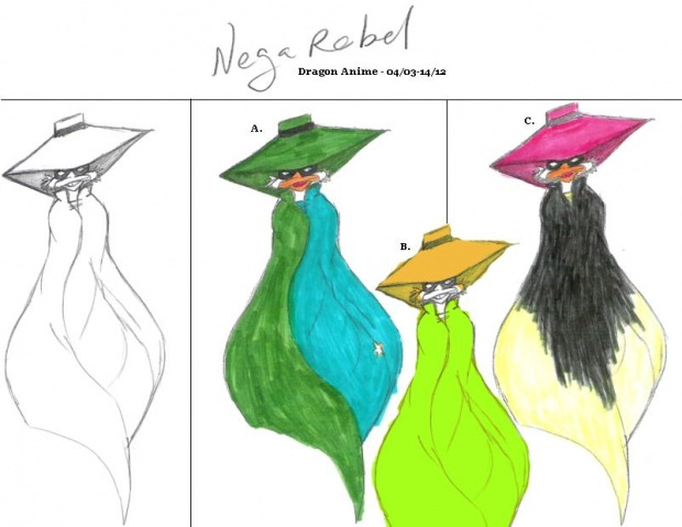 NegaRebel Color Chart